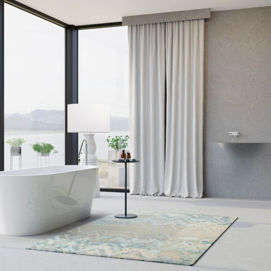 BörSting Badewanne und Ablage Mooro
